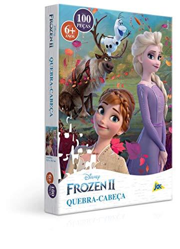 Frozen 2 - Quebra-cabeça 100 Peças Toyster Brinquedos Colorido