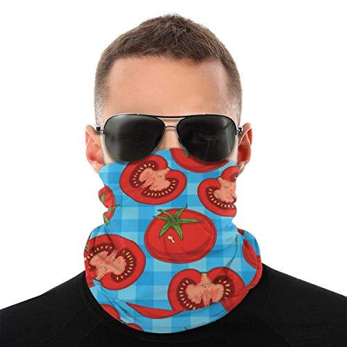 XCNGG Ripe Red Tomato Bandana Unisex Fashion Variety Head Scarf Outdoors Sciarpa per Capelli Sportiva