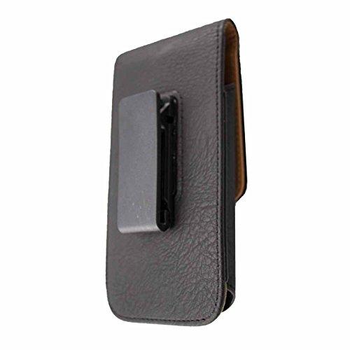 caseroxx Handy Tasche Outdoor Tasche für Archos 55 Cobalt Plus, mit drehbarem Gürtelclip in schwarz