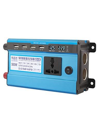 FURUN Power Inverter 12V/24V/48V/60V to 220V Professional Grade Car Converter Solar Inverter with USB Port 500W/1200W/1600W/2200W/3000W