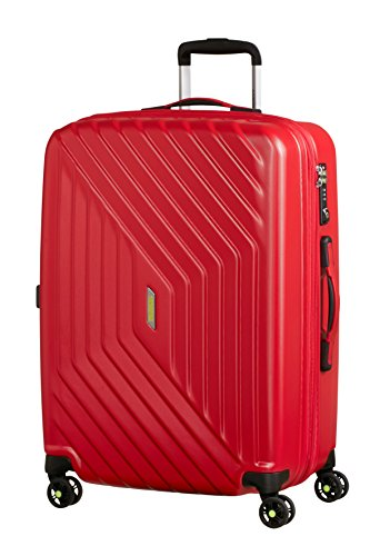 American Tourister Air Force 1 - Maleta, Rojo (Flame Red), M...