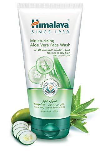 Himalaya Herbals Limpiador Facial Hidratante al Aloe Vera, 175 gr, 1 unidad