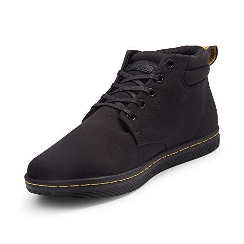 Dr. Martens Men's Maleke Fashion Boot, Black Canvas, 8