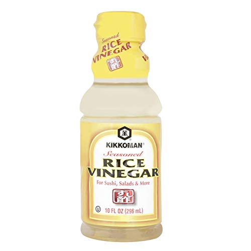 Kikkoman Seasoned Rice Vinegar, 10 Fluid Ounce