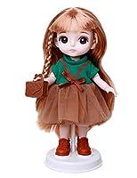 女の子 人形 プリンセストイ プレイハウス かわいいビニール人形 ドレス アクセサリー 15CM 人形 子供の贈り物 クリスマス お誕生日,C
