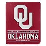 Northwest NCAA Oklahoma Sooners 50x60 Fleece Control DesignBlanket, Team Colors, One Size