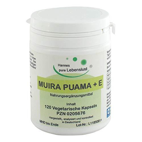 Muira Puama + E Kapseln, 120 St. Kapseln