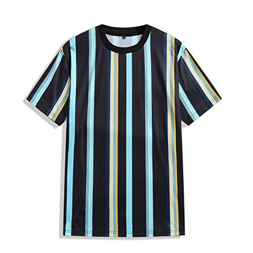 SSBZYES Camiseta para Hombre Camiseta De Verano De Manga Corta para Hombre Camiseta De Cuello Redondo para Hombre Camiseta con Estampado De Calavera Camiseta De Gran Tamaño para Hombre Camiseta