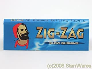 Zig Zag Blue Cigarette Rolling Papers - 10 packets