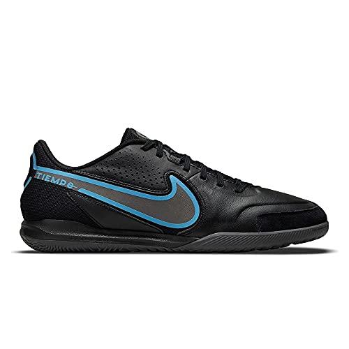 Nike Legend 9 Academy IC, Zapatos de fútbol (IN) Hombre, Black/Black-Iron Grey, 43 EU