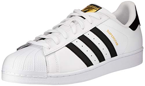 adidas Originals Superstar, Scarpe da Ginnastica Unisex Adulto, Bianco (Ftwr White/Core Black/Ftwr White), 44 EU