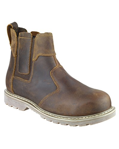 Amblers Safety FS165 Safety Boot Brown Size 7