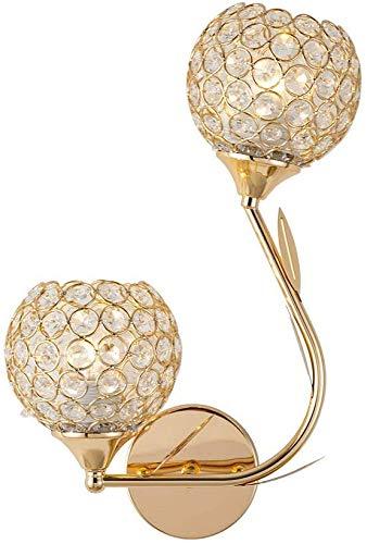 Wandlamp, kristallen bollen, wandlamp, complex, decoratie, uniek, elegant, modern, Scandinavisch design, wandlampen
