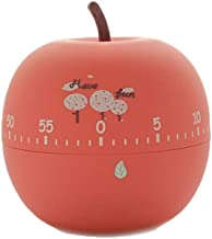 MONLIYA Kitchen Timer Cute Fruit Cookie Kitchen Timer | Novelty Manual Cooking Timer | Fun Shaped Mechanical Timer for Kit...