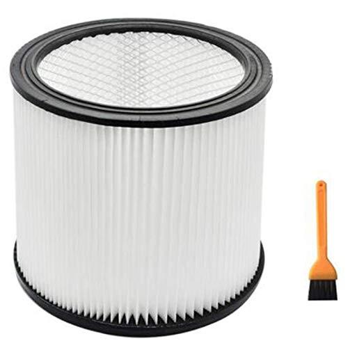 Fauge Aspirador para 90304 Cartucho de Repuesto Apto para 5 Galones y Más Grande para Filtro de Vacío en Seco y Húmedo para Shop Vac