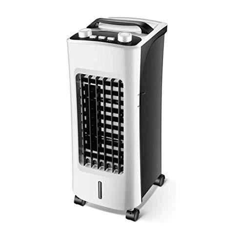 Dalovy Aire Acondicionado Portátil Dos en Uno, Enfriador de Aire Evaporativo Móvil, Calefacción Y enfriamiento Ultra Silenciosos, enfriamiento Rápido