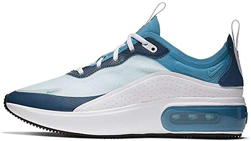 Nike W Air MAX Dia SE, Zapatillas de Atletismo para Mujer, Multicolor (White/Dk Turquoise/Blue Force/White 104), 37.5 EU