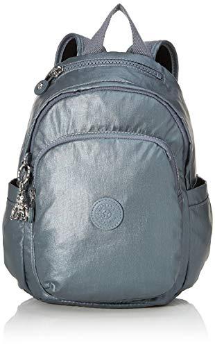 Kipling Delia Mini Handbag, 8.0 liters, Steel Gr Metal