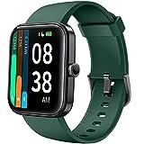YONMIG Smartwatch, 1.69' Reloj Inteligente con Alexa Integrada para Hombre Mujer, Monitor de Oxígeno de Sangre(SpO2), Monitor de Sueño, Pulsómetro, Pulsera Actividad Impermeable 5ATM 14 Modos Deporte