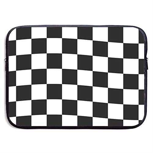 VEGAS Checkered Flag Laptop Sleeve Case Bag Handbag for MacBook - Lightweight Carring Protector for 13 Inch Samsung Sony ASUS Acer Lenovo Dell HP Toshiba Chromebook Computers