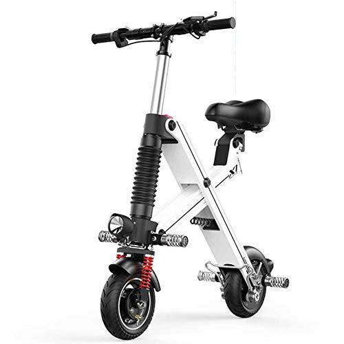 ZBB E-Bici Ligera y Plegable de Aluminio Batería de Iones de Litio...