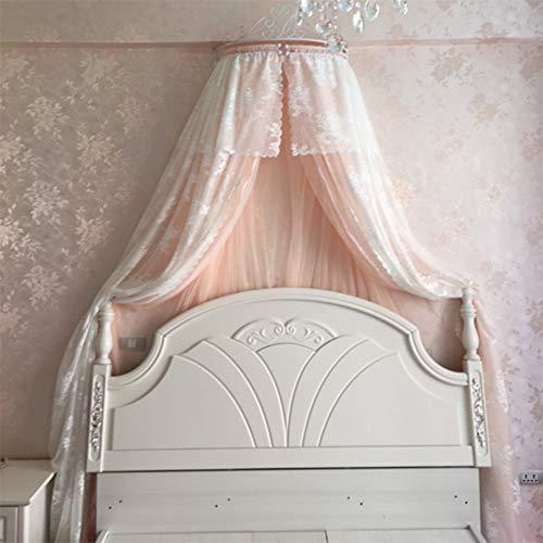 HOMEJYMADE Corona la cúpula mosquitera,Doseles de Cama de la Princesa Niños casa Princesa la Tienda del Juego de Estrellas Brillantes Caliente EN Instagram-H 1.8m