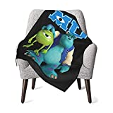 MAIMATIEKE Colorful Monsters, Inc Baby Blanket Cool Flannel Throw Blankets Bedding for Toddler Boys Girls Blanket 30x40 in
