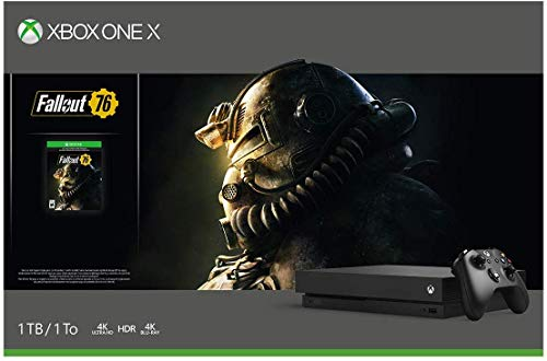 Consola Xbox One X, 1TB + Fallout 76 - Bundle Edition