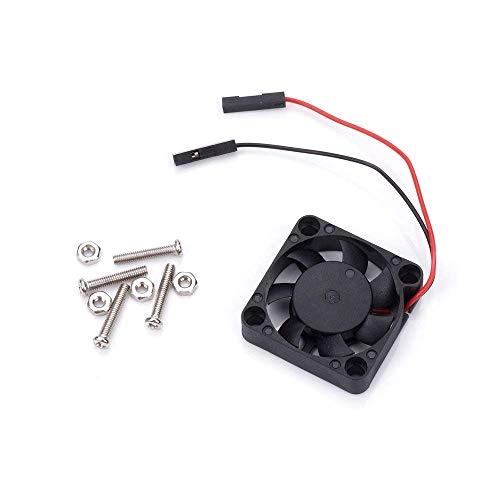 Modell B CPU-Lüfter 5V 2P Bürstenloser Lüfter 30307 MM Lüfter für RPI 3B + / 2 für Orange Pi für NesPi-Gehäuse 3D-Druckzubehör