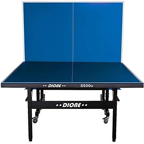 Dione S500o - Mesa de ping pong (6 mm, plegable, para exteriores, 55 kg, 10 minutos de instalación)