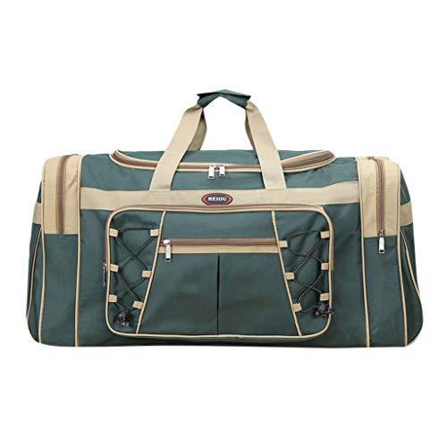 Calvinbi Taschen Damen Herren Große Reisetasche Sporttasche Handgepäck Verpflegungspaket Koffer Hochwertige Gym Tasche Rucksack Outdoor Gepäcktasche