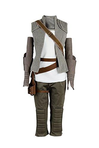 Fuman The Last Jedi Rey Outfit Cosplay Kostüm Damen M