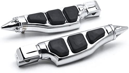 Krator Stiletto Motorcycle Lowest price challenge Foot Compat Classic Left+Right Footrests Pegs