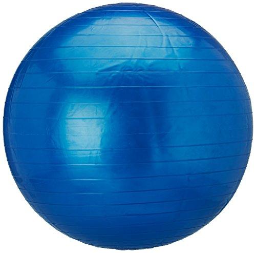 Softee Pelota Gigante - Pelota de Gimnasia de Fitness y Ejercicio, Color Azul Marino, 65cm