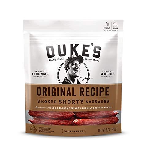 Duke's Original Recipe Smoked Shorty Sausages, 5 Ounce,...