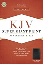 Best kjv super giant print reference bible Reviews