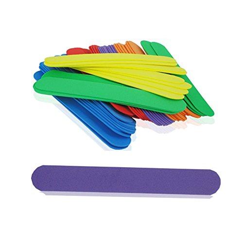 131197 - Palitos de goma eva de colores, 300 unidades, tamaño ...