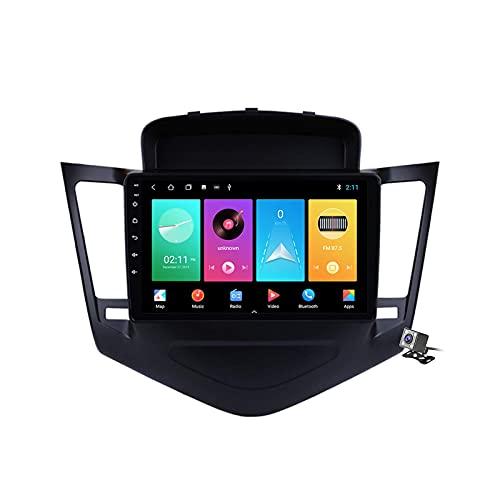 Radio de coche GPS Android 10 de 9 pulgadas para Chevrolet Cruze 2009-2014 incorporado Carplay Android soporte 5G WiFi pantalla dividida/control del volante/cámara de visión trasera