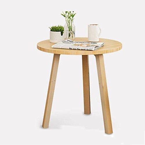 FEI Sofa en bois de table basse de table ronde pour le salon 60 * 59cm de balcon