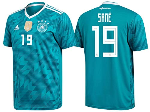 DFB Trikot Kinder 2018 Away WC - Sane 19 (140)