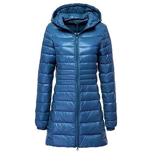 YRFHQB herfst winterjas vrouwen klassiek 90% donzen ultralichte lange jas mantel vrouwelijke bovenkleding mantel met capuchon parka vrouwelijke jassen