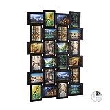 Marco para 24fotos Relaxdays, marco de fotos para colgar, foto collage para diseñar,...