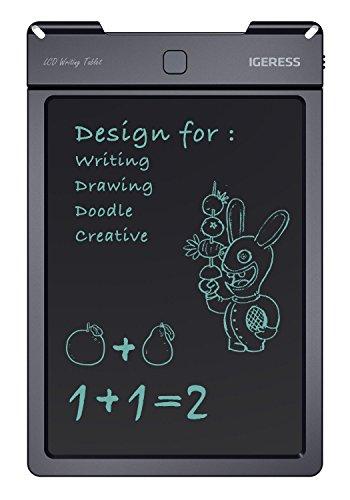 IGERESS 9-Zoll LCD-Schreibtafel Elektronische Schreibtafel Digitale Zeichenplatte Grafische Grafiktablette Langlebig …