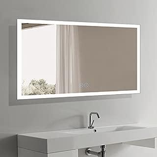 BHBL 60 x 36 in Horizontal LED Bathroom Mirror with Anti-Fog Function (DK-C-N031-W3)