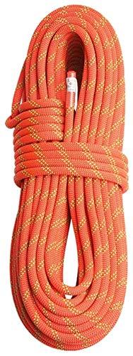 Zixin Kletterseil Klettern Seil 12mm Statikseil Kletterseil Außen Swings Hammock Spielplatz Seil Praktische Zusatzwerkzeuge, Orange, 12mm x 50m (Color : Orange, Size : 12mm x 50m)