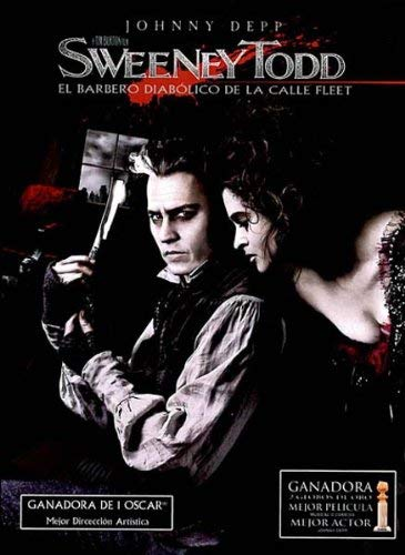 JOHNNY DEPP - Sweeney Todd (2 DVD)