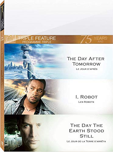 Three Feature Films: The Day After Tomorrow/ The Day the Earth Stood Still/ I,robot