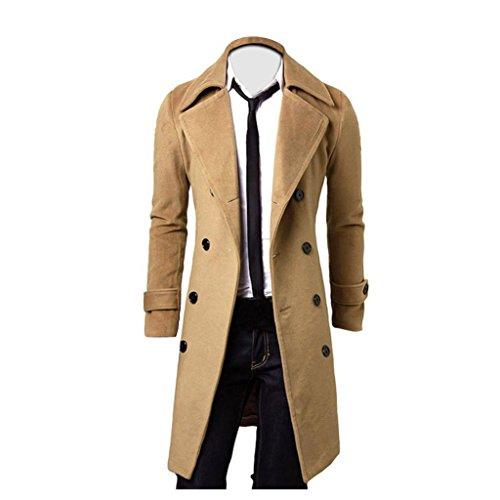 cappotto uomo fashion KanLin1986 Uomo Fashion Cappotto