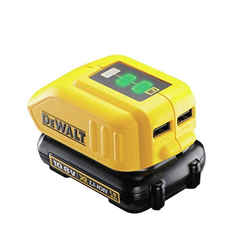 DᴇWALT DCB090-XJ Adattatore USB per Batterie XR Litio