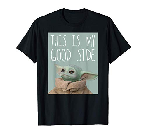 Star Wars The Mandalorian The Child This Is My Good Side T-Shirt